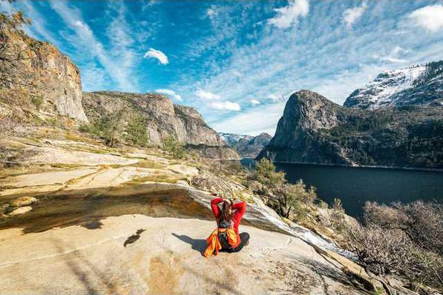 HH Yosemite-Hetch-Hetchy-Cascade-Break