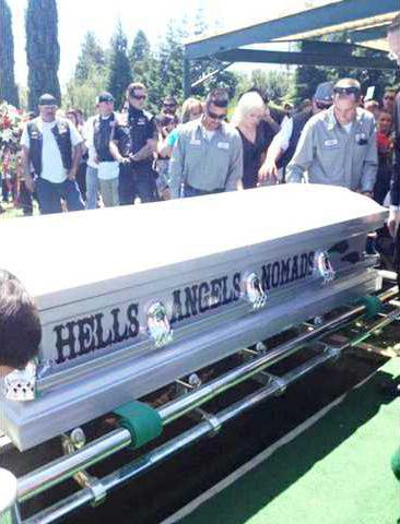 Bikers mourn loss of Hells Angels member