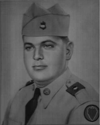 Raymond Strickland army pic BW