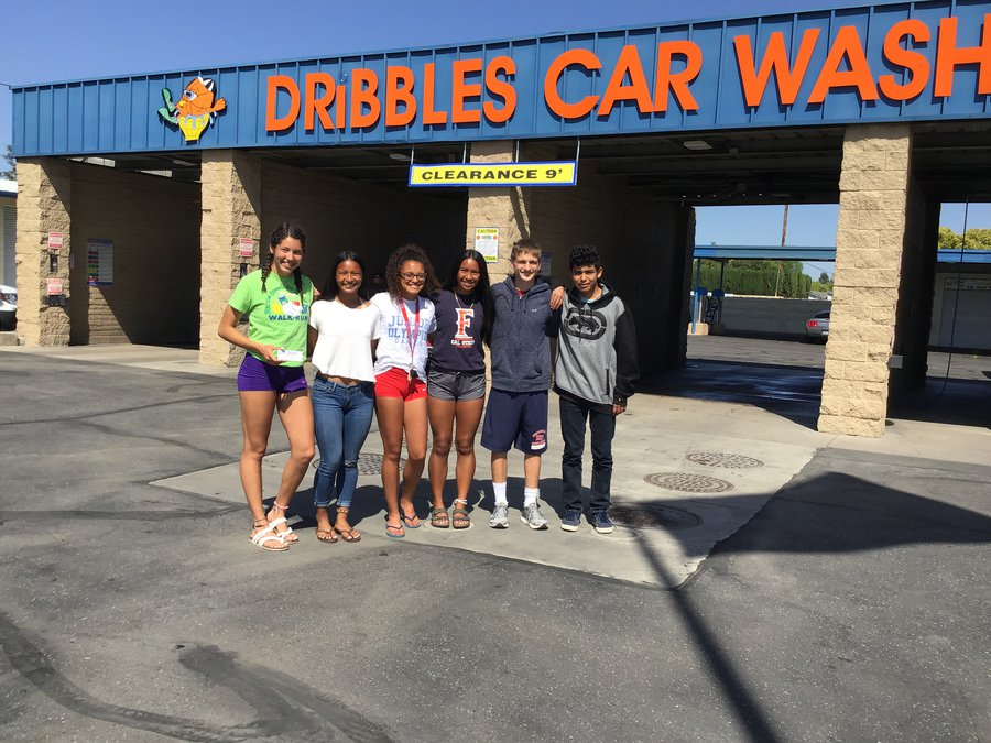 Dribbles splits car wash proceeds with MUSD sports, PE