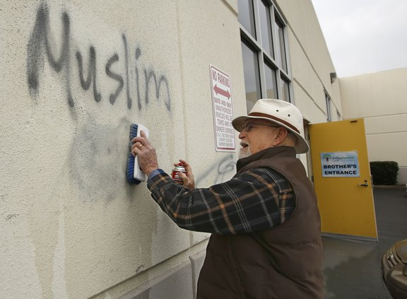 hate crimes AP pic