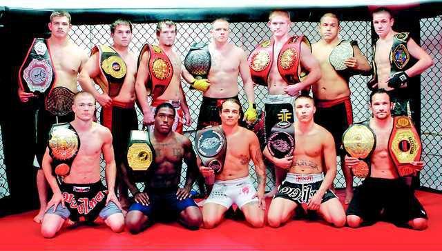 0808 Oak MMA Belts