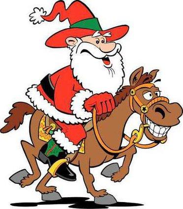 cowboy santa