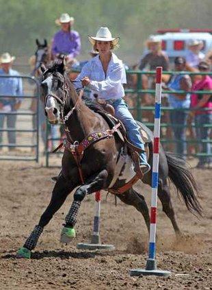 8-21 OAK JR Rodeo Stelling
