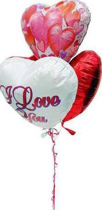 Metallic balloons pix