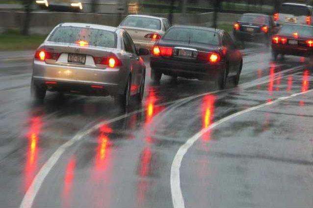 rain driving