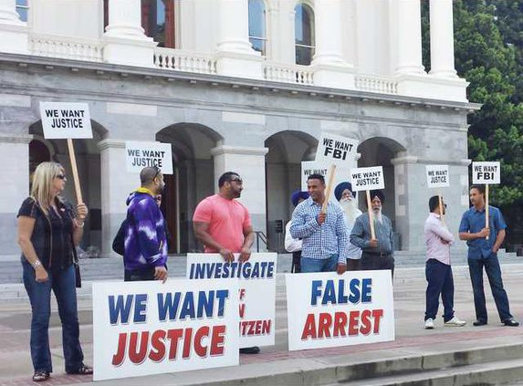 brothers protest Sac