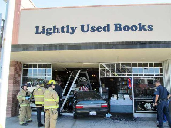 book crash pic