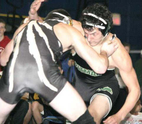 Pitman wrestling pic