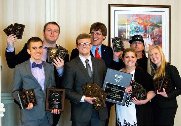 MJC Speech Team at 2015 State Championships