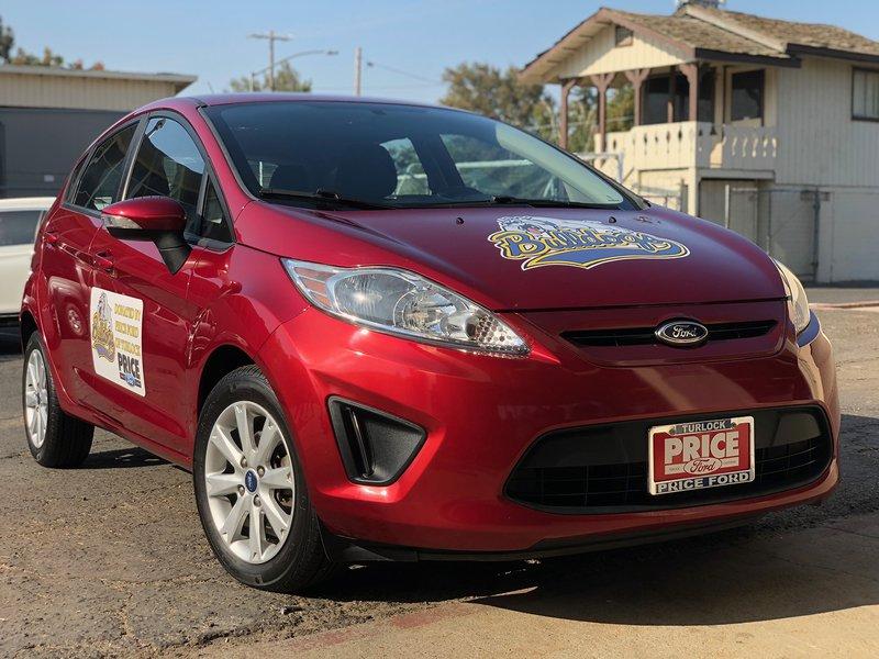 Pride Ford Fiesta donation