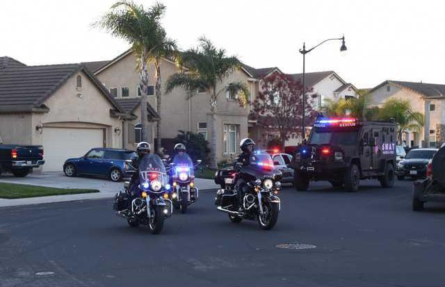 Randy Police escort DSC 0255