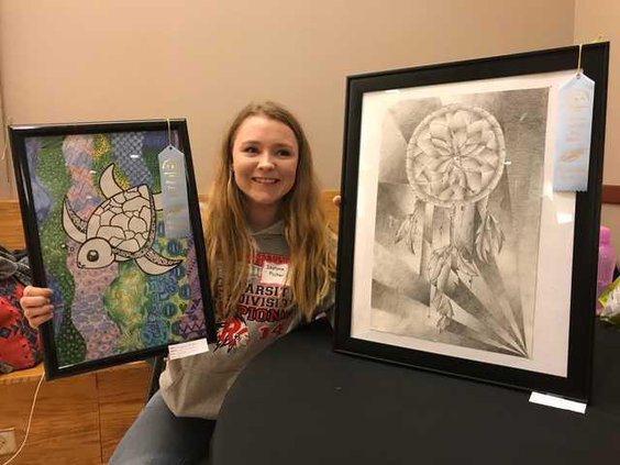 Ripon Art Show student IMG 2402