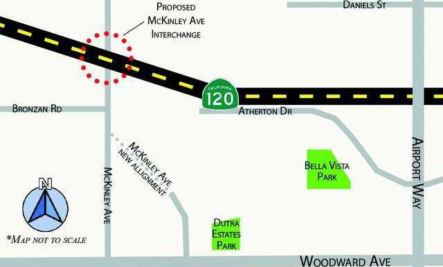 MAP McKinley Interchange 2
