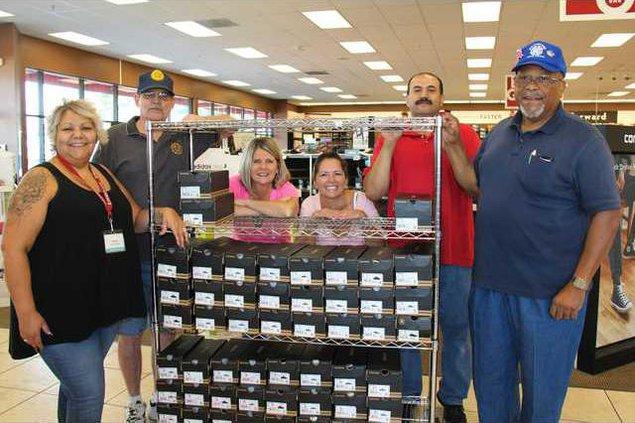 Shoes for foster youth