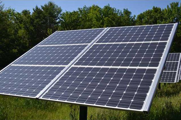 Solar panels pic