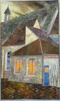 Sue Siefken2c French Village2c Textile