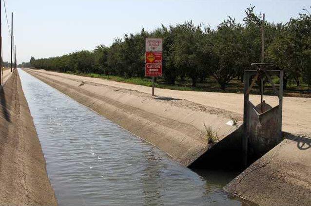 canal at Verduga Road