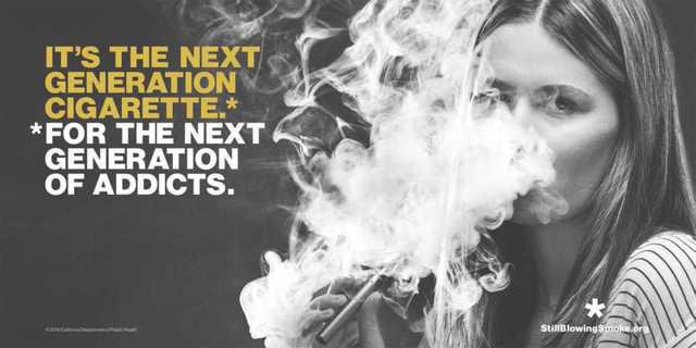e cigarette campaign