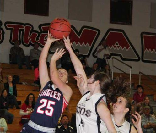 Cassie Balswick TC Basketball