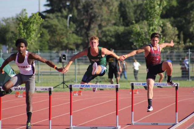 Delhi and Hilmar track and field