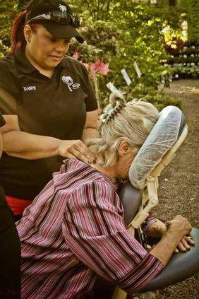 the spa massage