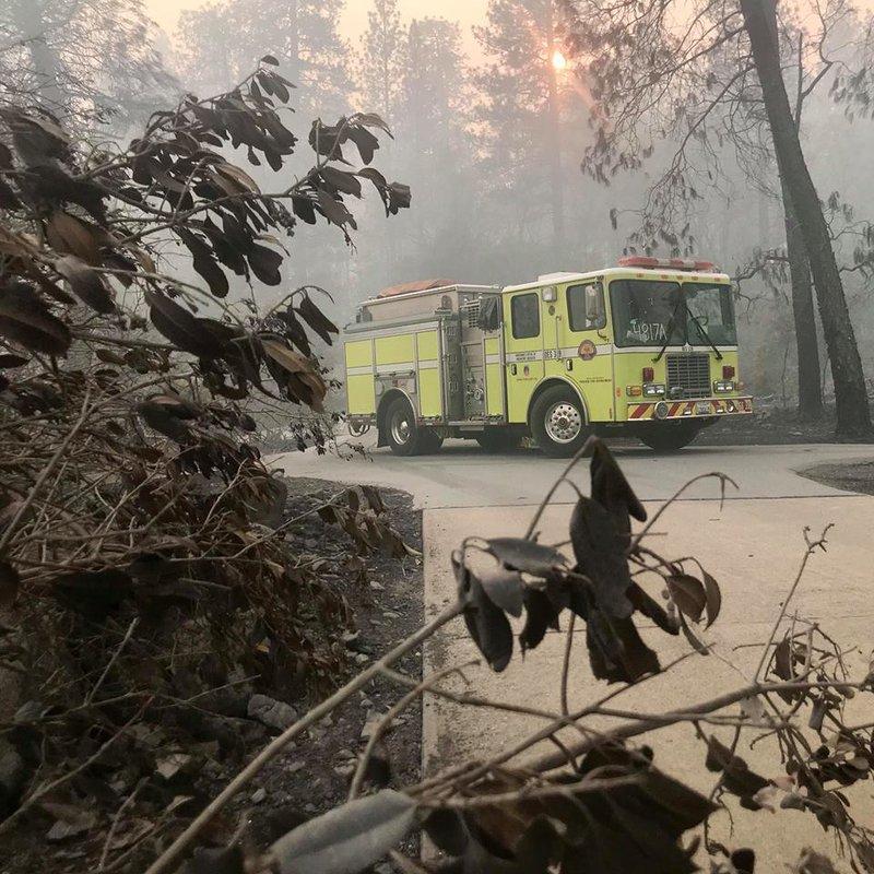 Turlock fire at camp fire