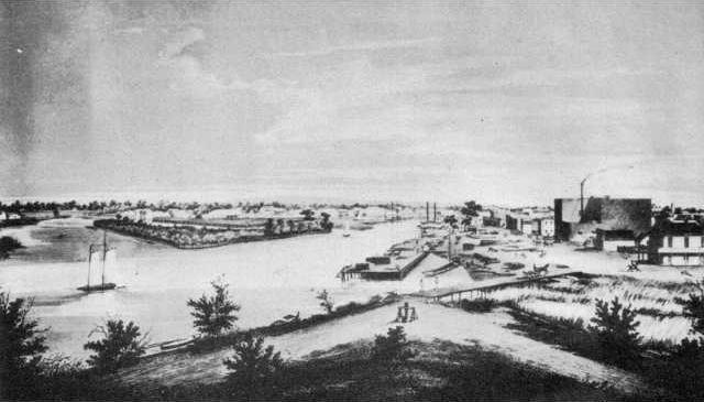 Stockton California circa 1860