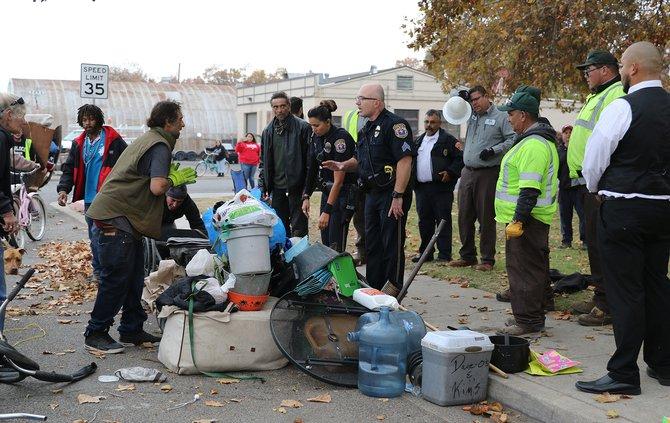 Broadway park homeless update