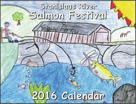 Students Featured In Salmon Festival Calendar - Escalon Times