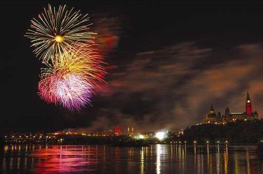 eye fireworks