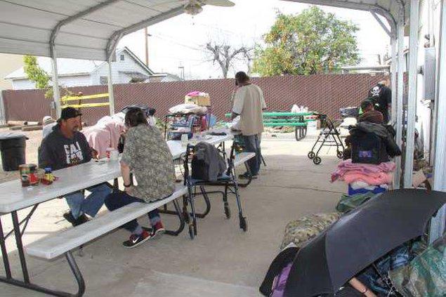 homeless day center