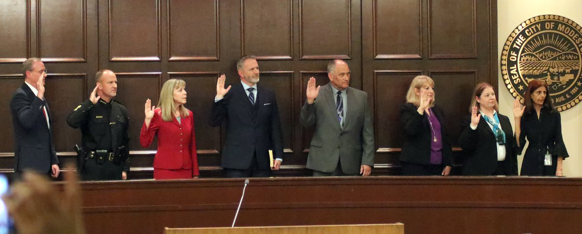 Elected county officials begin terms - Turlock Journal