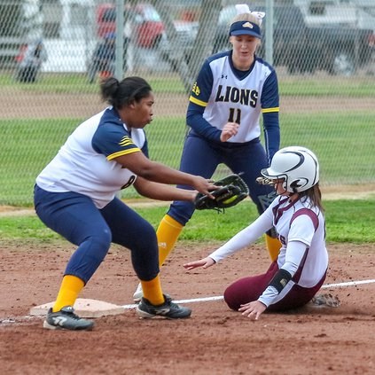 Softball Squad, Baseball Players Fit In Spring Games
