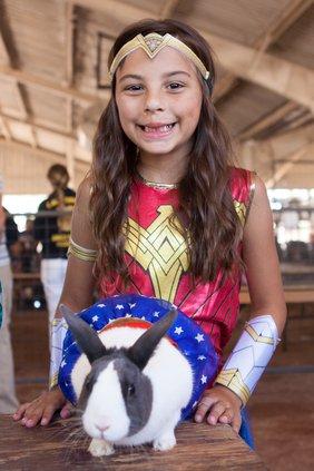 Stanislaus County Fair livestock exhibitor