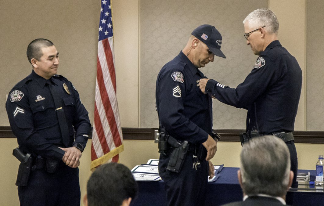 Public safety standouts honored by chief - Ceres Courier