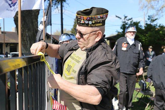 vietnam veterans ceremony
