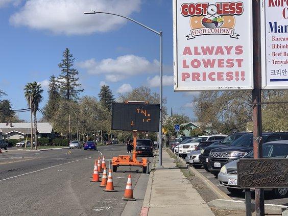 West Main closure