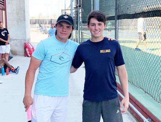 Turlock tennis doubles