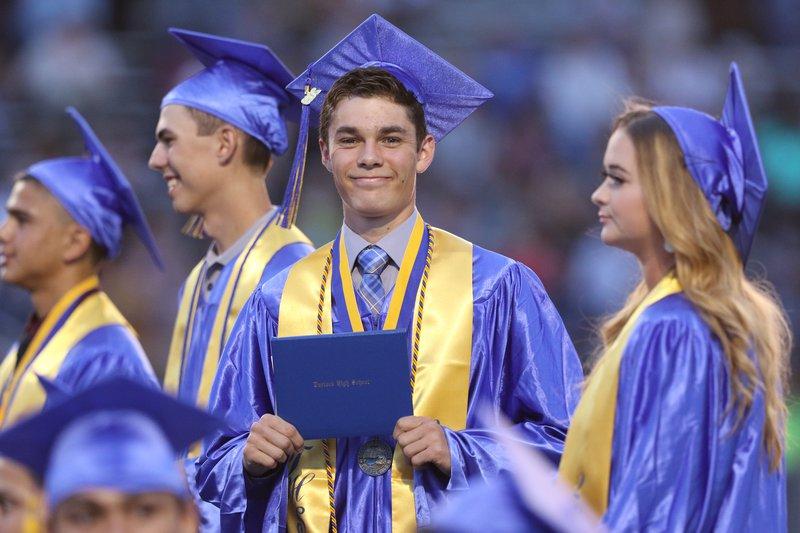 Turlock High graduation 1