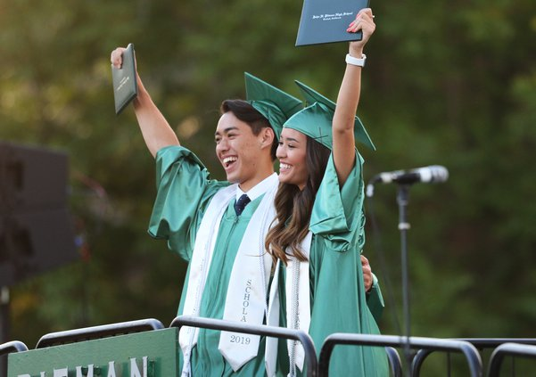 Pitman graduation1