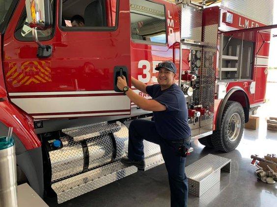 LM fire truck
