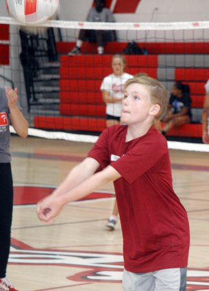 Volleyball clinic ceres