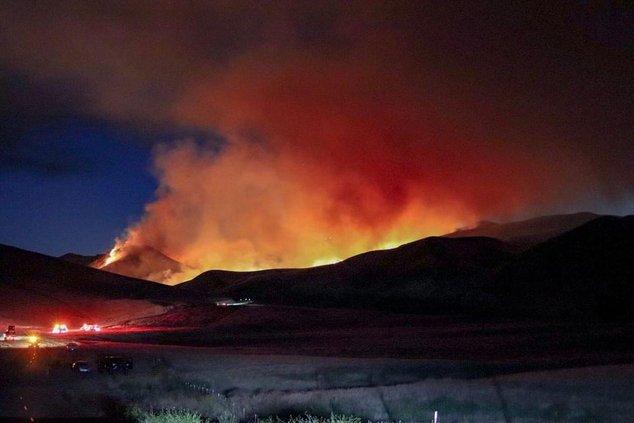 Diablo Grande fire