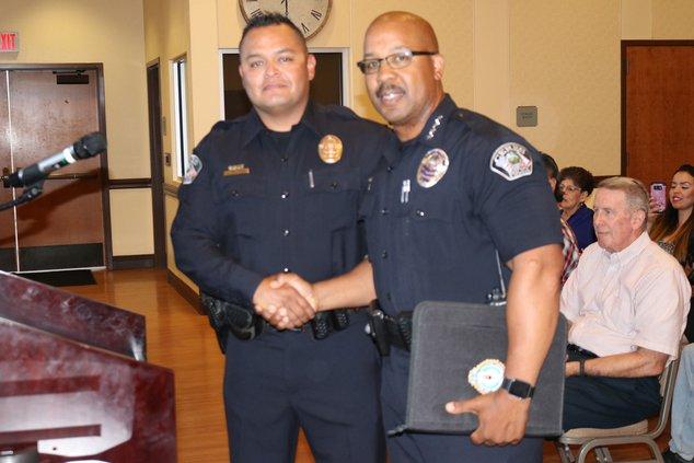 Lorenzo Beltran officer