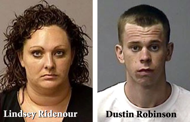 Crime duo Ridenour Robinson