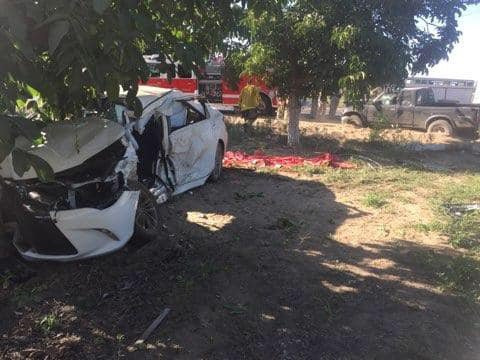 Bradbury Road collision