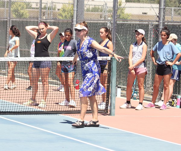 Turlock girls tennis
