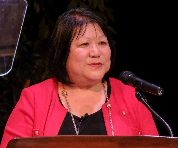 Ellen Junn welcome address
