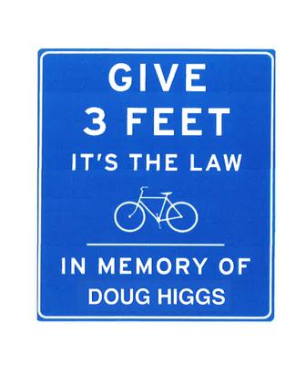 bike sign